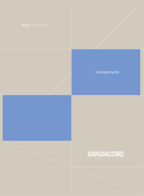 Catalogo sangiacomocomplementsnightcollection